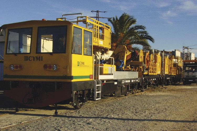 CYMIMASA Modular Track Renewal Train