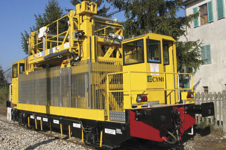CYMIMASA Modular Track Renewal Train